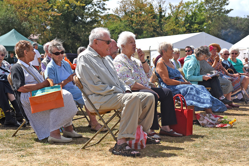 125th Annual Show of the Stoke Poges, Wexham & Fulmer Horticultural Society in the grounds of Stoke Poges School