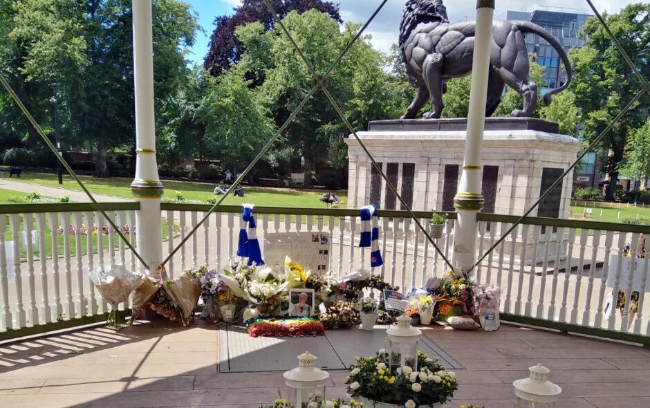 Forbury Gardens tribute